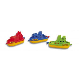 Lote 3 barcos surtidos en red. 21 x 21 x 5 x 10cm. NO PVC.