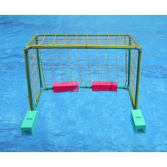 Portería infantil termosoldada con red. 90 x 70 x 50cm