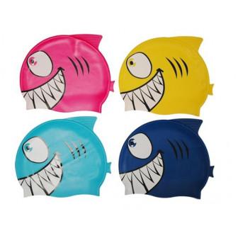 Gorro infantil tiburón de silicona