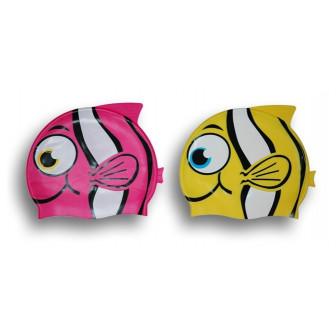 Gorro pez silicona infantil