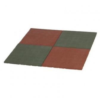 Baldosa caucho de 2 cm - Set de 4 piezas