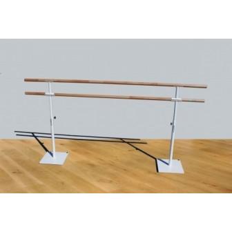 Barra móvil ballet, Doble,250 cm