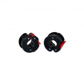 Cierres de seguridad para barras de Body Pump con un diámetro de 25 mm.