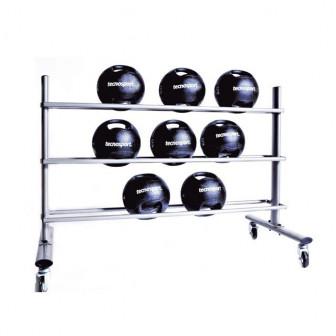 Soporte horizontal para balones medicinales