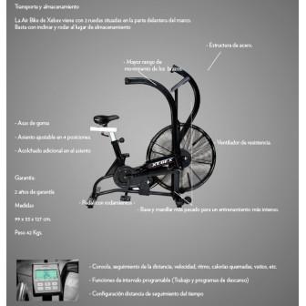 Bicicleta Indoor Air bike xebex