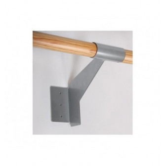 Soporte para pared de barra de ballet simple