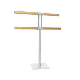 soporte portátil para barras de ballet doble
