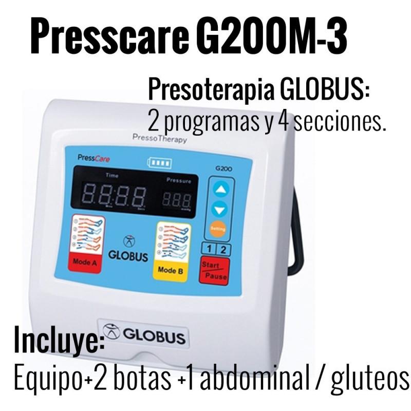 Presscare G200M 3 (Bota talla M) 2 programas