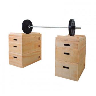 Jerk Boxes Madera (Set De 2)